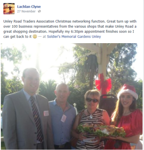 Unley road Trader's Christmas Networking Drinks